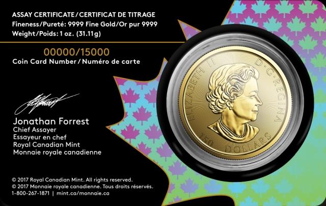 Goldmünze im Blister kaufen - 150 Jahre Voyageur
